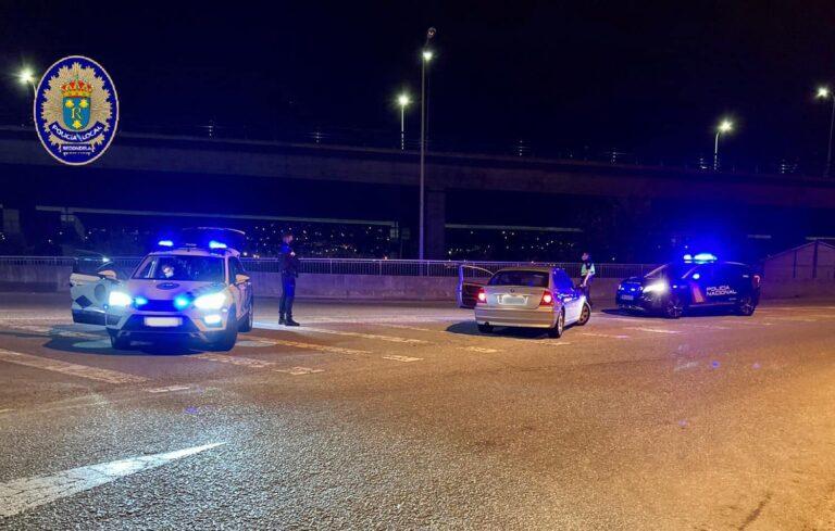 os condutores foro parados pola Policía