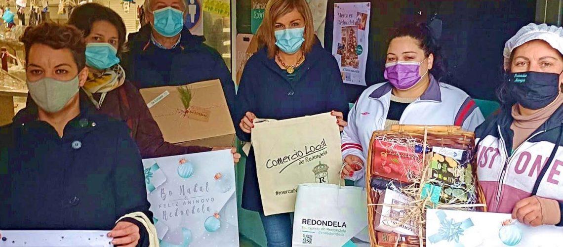 Digna Rivas e María Castro. Dinamización Mercado de Abastos