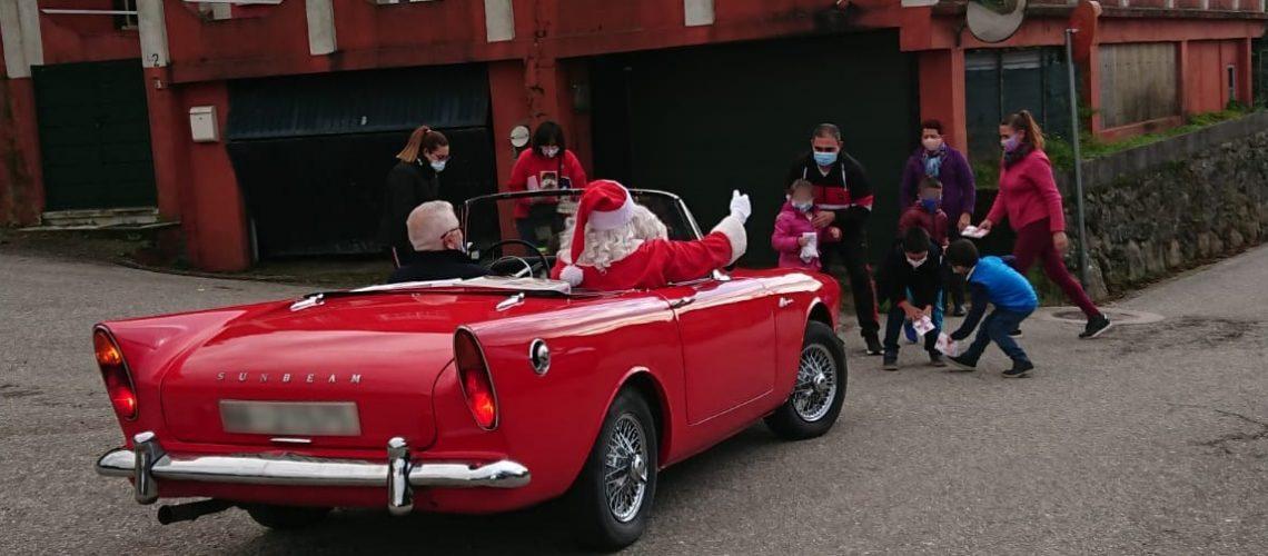 Papá Noel nas parroquias de Redondela 02
