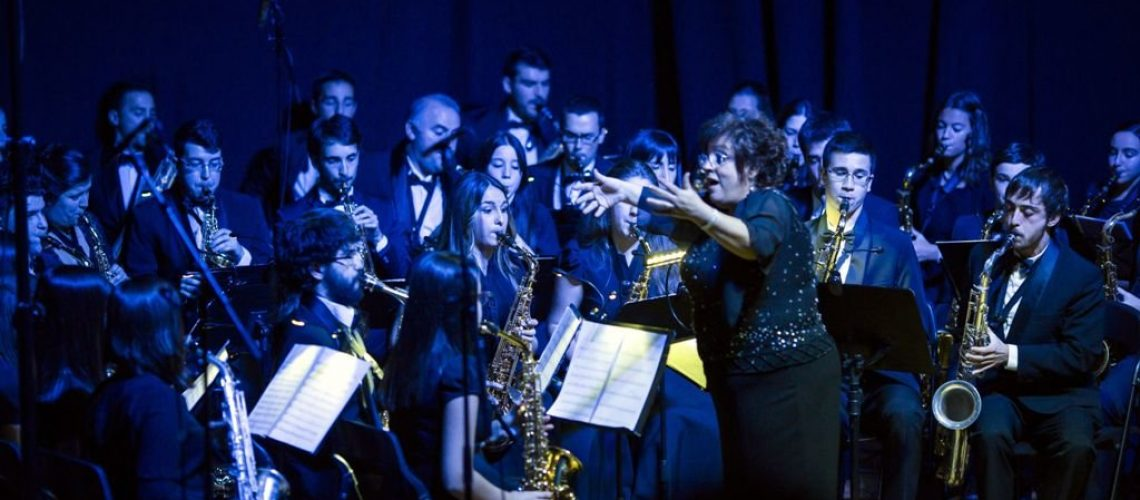 orquesta saxos